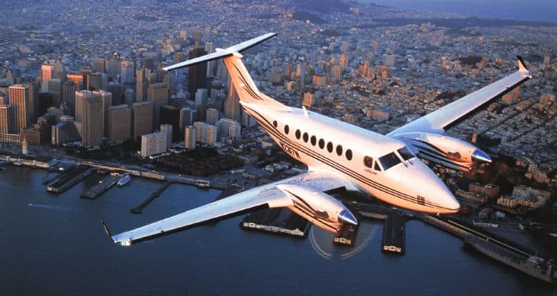 King Air 350 Private Jet Hire