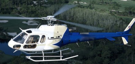 Squirrel AS 350 Monoturbine Helicopter Hire