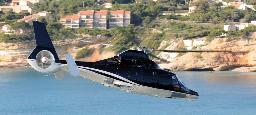 Private jet hire or helicopter For Figari