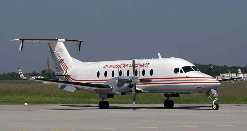 King Air 1900 Private Jet Hire
