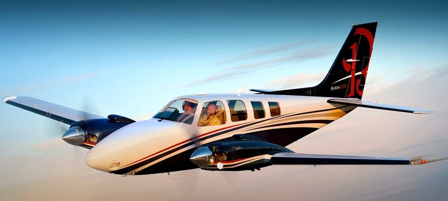 Beechcraft Baron G 58 Private Jet Hire