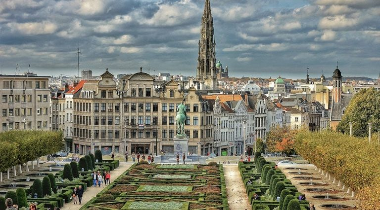 Charter a private jet to Belgium