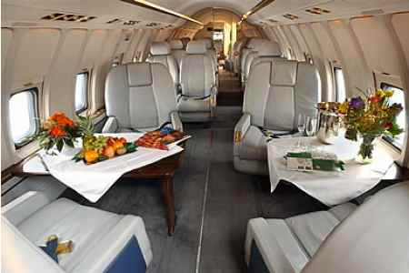 Challenger 600 Private Jet Hire