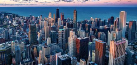 Private jet hire in Chicago Ohare International