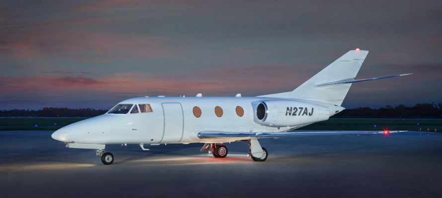 Falcon 10 Private Jet Hire