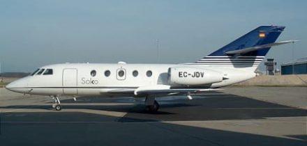Falcon 20 Private Jet Hire