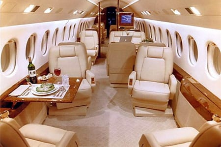 Falcon 2000 Private Jet Hire