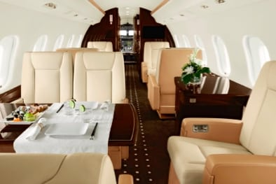 Global 6000 Large Jet Private Jet Hire