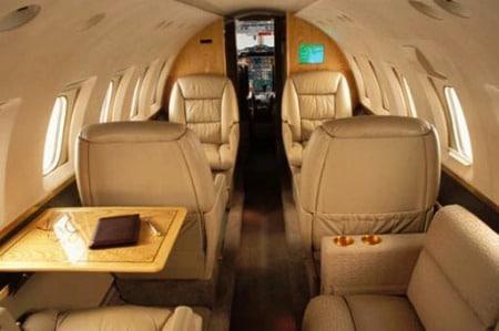 Hawker 750 Private Jet Hire