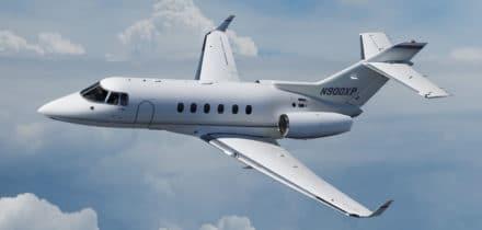 Location de jet privé - Hawker 800 XP