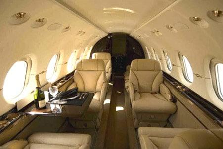 Hawker 850 Xp Private Jet Hire
