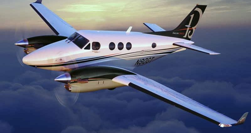 King Air 90 GT Private Jet Hire