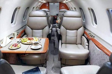 Learjet 60 Private Jet Hire
