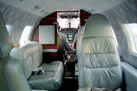 Mitsubishi Mu 2 Private Jet Hire