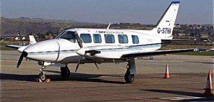 Piper Pa 31 Navajo Private Jet Hire