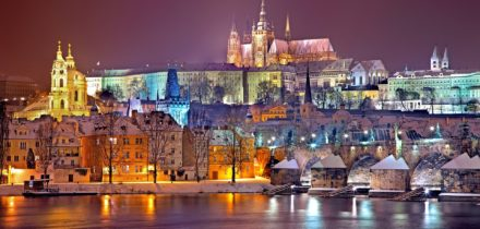 Private jet hire in Prague Vaclav Havel