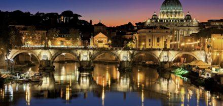 Private jet hire in Rome