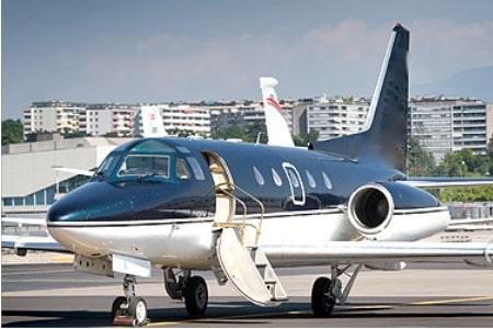 Sabreliner 65 Private Jet Hire