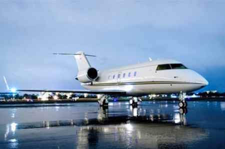 Challenger 601 Private Jet Hire