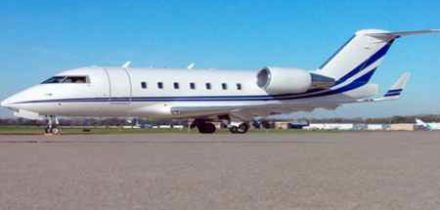 Challenger 604 Private Jet Hire