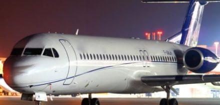 Fokker 100 Private Jet Hire