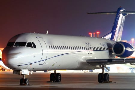 Fokker 100 Private Jet Hire