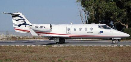 Learjet 55 Private Jet Hire