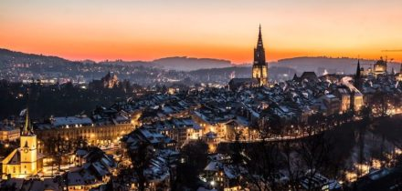Private jet hire in Berne Airport Switzerland