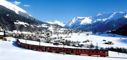 Private jet hire in Klosters