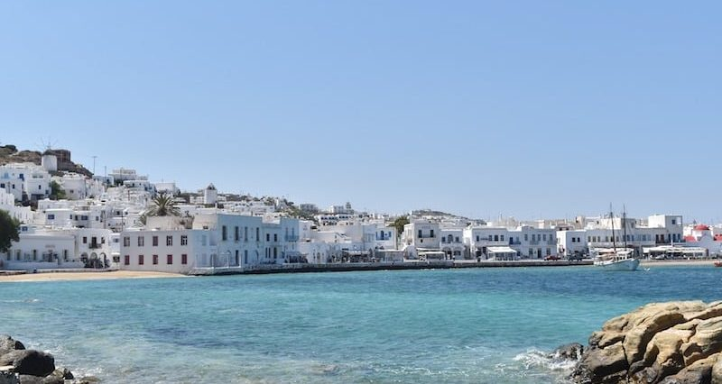 Private jet hire in Mykonos Greece