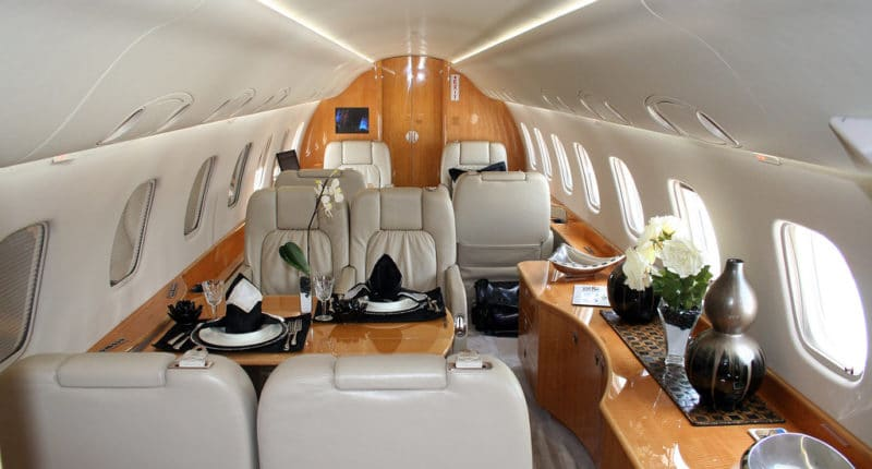 Legacy 135 Private Jet Hire