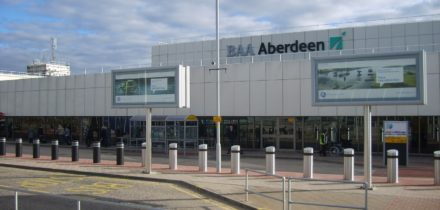 Private jet hire in Aberdeen Airport