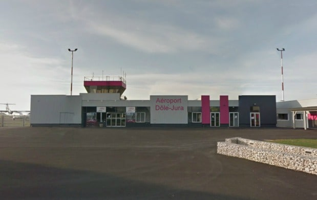Private jet hire in Dole Airport Jura