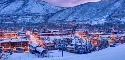 Private jet hire in Aspen