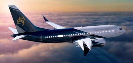 Boeing BBJ Private Jet Hire