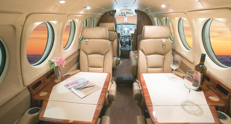 King Air 200 Private Jet Hire