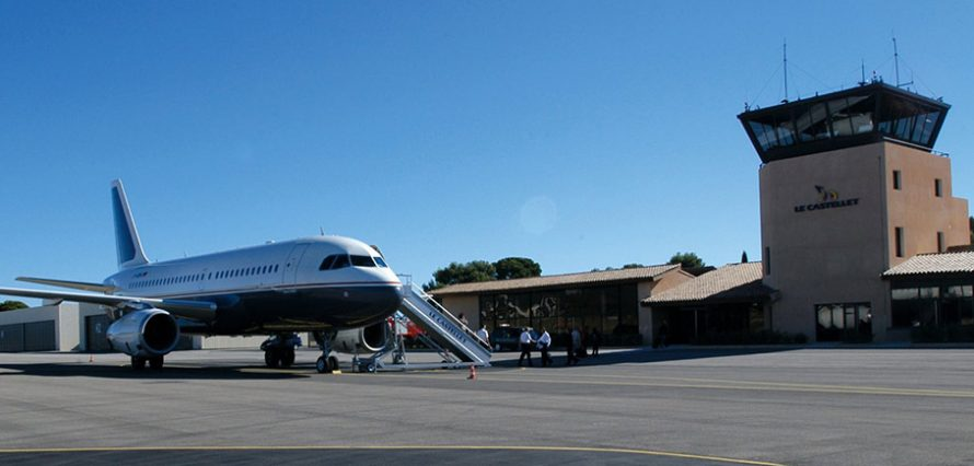 Private jet hire in Castellet
