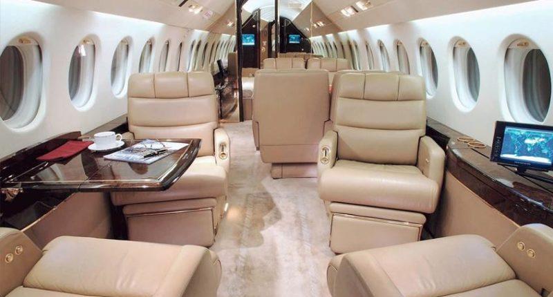 Falcon 900 Private Jet Charter