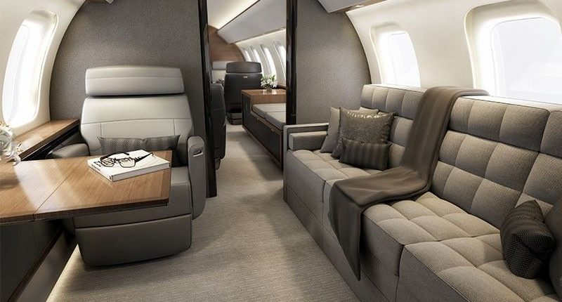 Global 6000 Large Jet Private Jet Hire