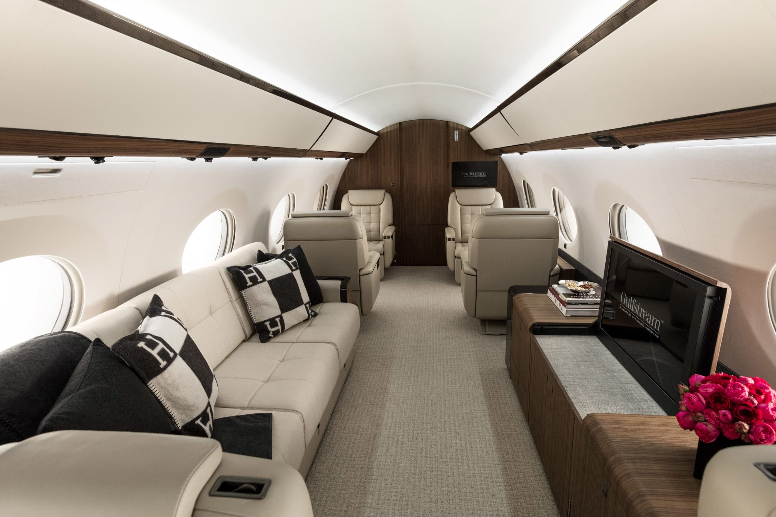 The Luxury Private Jet Interiors Aeroaffaires
