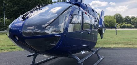 EC 135 VIP Helicopter rental