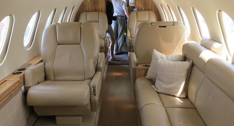 Intérieur Falcon 50 Dassault