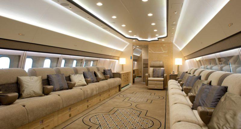 Boeing BBJ Private Jet Hire