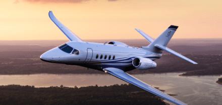 Citation II Private Jet Hire