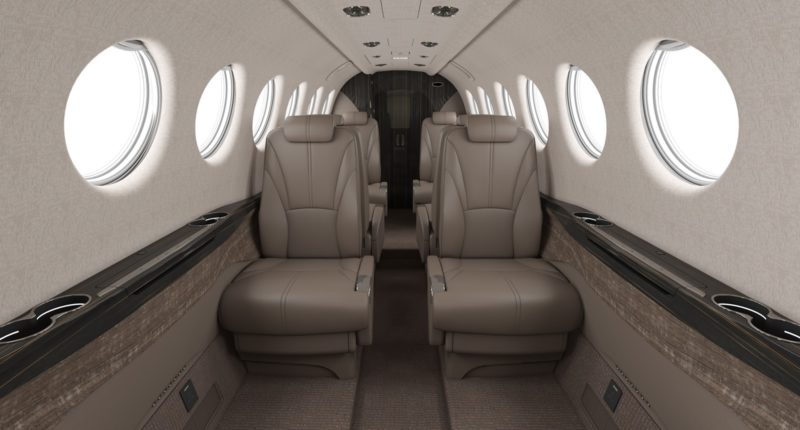 Jet privé King Air 350 AEROAFFAIRES