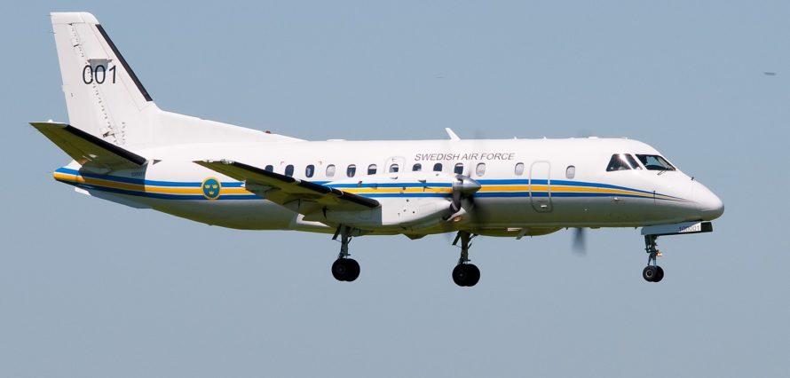 Saab 340 location