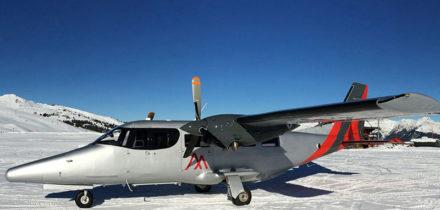 A Viator TP600 Private Jet Hire