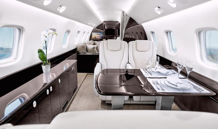 Legacy 650 650 E Private Jet Hire