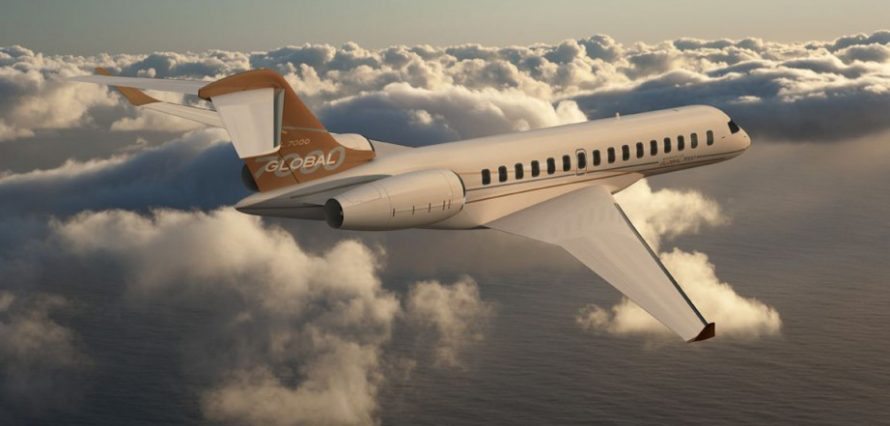 Global 8000 Private Jet Hire