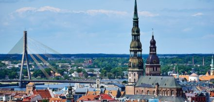 Private jet hire to Riga